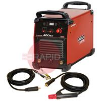K12042-1P Lincoln Electric Invertec 400 SX Stick & Lift Tig Inverter - CE Ready to Weld Package. 400v 3ph