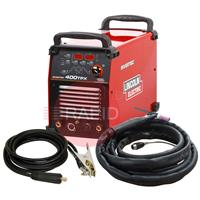 K12043-1AP Lincoln Electric Invertec 400 TPX Air Cooled Ready to Weld Package 400v 3ph CE