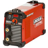 K12050-1 Lincoln Invertec 160SX DC Arc Welder, Dual Voltage 110v & 230v