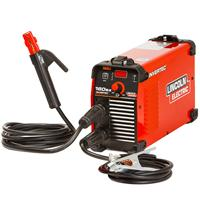 K12050-1P Lincoln Electric Invertec® 160SX DC Arc Welder. Dual Voltage 110 or 230v Smart Switching. Ready to Weld Package.