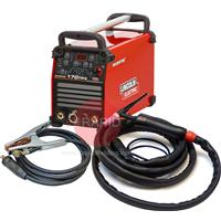 K12054-1P Lincoln Invertec 170TX Tig Welder, Ready to Weld Package with WTT2 17 EB 4m Tig Torch & Earth, 230v 1ph