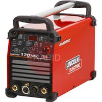 K12055-1 Lincoln Invertec 170 TPX Pulse Tig Power Source 230v CE