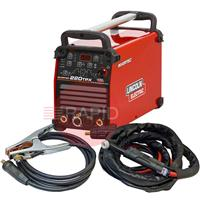 K12057-1PCK8 Lincoln Invertec 220 TPX Pulse Tig Welder, Ready to Weld Package with CK TL26 8m Tig Torch, 110/230v CE