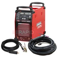 K12058-1AP Lincoln Aspect 300 AC/DC Tig Welder - Ready to Weld Package, 400v 3ph