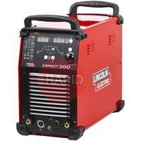 K12058-1 Lincoln Aspect 300 AC/DC Inverter TIG Welder Power Source - 230v / 400v, 3ph