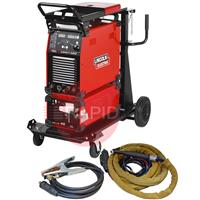K12058-1WPCKFS Lincoln Aspect 300 AC/DC Tig Welder - Water Cooled Ready to Weld Package with 4m CK 230 Torch, 400v 3ph