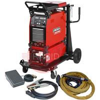 K12058-1WPCKPD Lincoln Aspect 300 AC/DC Tig Welder - Water Cooled Ready to Weld Package with CK 230 4m Torch & Foot Pedal, 400v 3ph