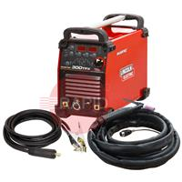 K12060-1AP Lincoln Invertec 300TPX DC TIG Welder Ready To Weld Air Cooled Package - 400v, 3ph