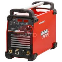 K12060-1 Lincoln Invertec 300TPX DC Inverter TIG Welder Power Source - 400v, 3ph
