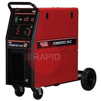 K14045-1 Lincoln Electric Powertec 191C Mig Welder. 1ph 180amp. 230v