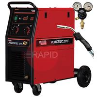 K14046-1P Lincoln Powertec 231C Mig Welder, 220 amp 1ph 230v - Ready to Weld Package, As used on Television's