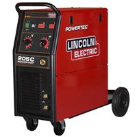 K14054-1P Lincoln Electric Powertec 205C Compact Mig - Ready to Weld Package, 400v 3 Phase