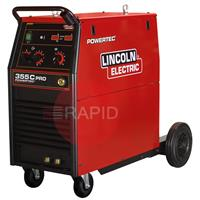 K14058-1 Lincoln Electric Powertec 355 C Pro Mig Welder 3Ph 400V