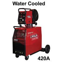 K14061-2W-24-RWP Lincoln Powertec 425S / LF24M / 5m Interconnection. Water-cooled Mig Welder