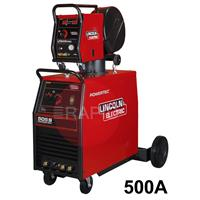 K14063-1X-24P-RWP Lincoln Powertec 505S Mig Welder - Ready to Weld Package