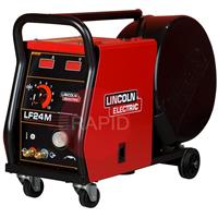K14065-1W Lincoln LF-24M Four-Roll Wire Feeder - Air/Water cooled