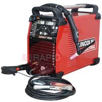 K14189-1AP Lincoln Aspect 200 AC/DC TIG Welder Ready To Weld Air Cooled Package - 115v / 230v, 1ph