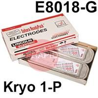 Kryo-1-P-SRP Lincoln Electric Kryo 1-P Vacuum Sealed SRP Pack, Low Hydrogen Electrodes, E8018-G H4R