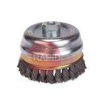 LES482117 65MM X M14 TWIST KNOT CUP BRUSH