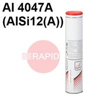 Lincoln-AlSi12 Lincoln AlSi 12 Aluminium Covered Electrodes, 2.0KG Pack, ISO 18273 : Al 4047A (AlSi12(A))