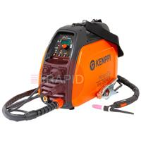 Minarctig200EvoMLP Kemppi MinarcTig 200 Evo MLP with Pulse, Ready to weld package. Includes Tig Torch & Earth Cable. 230v CE