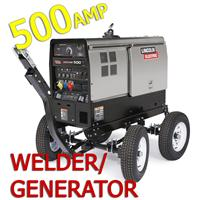 OFFER5 Save Over £8000 on Lincoln Vantage 500 CE Diesel Welder Generator with 4 Wheel Steerable Trailer