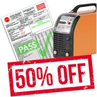 OPTION1N Half Price Validation/Electrical Inspection & Registration for New Machines