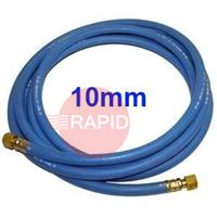 OXYHOSE10MM 10MM Standard Oxygen Hose Fitted With 3/8