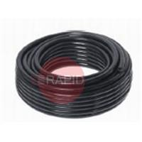P040B 6mm Black PVC Braided Hose. Priced Per Metre
