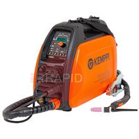 P0641TX Kemppi MinarcTig EVO 200 with 8m TX225G8 Torch, Earth Cable & Gas Hose<font color='blue'> Includes Free European Shipping</font>
