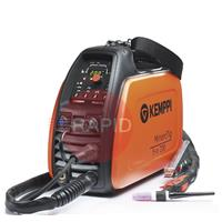 P0652 Kemppi MinarcTig EVO 200 with 4m TTC130F Torch, Earth Cable & Gas Hose<font color='blue'> Includes Free European Shipping</font>