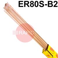 RA32XX50 SIFSTEEL A32 copper-coated alloy steel rod, 5.0kg Pack, CrMo1Si (1CML), ER80S-B2