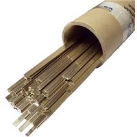 SIL55S Johnson Matthey Silverflo 55 Silver Solder Strip 5mm X 1mm x 600mm. Priced Per Rod, BS1845; 1984 AG14