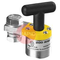 SMGC200 Tweco Switchable Magnetic Ground Clamp - 200 amp