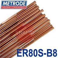 T9CRMO-24 Metrode 9CrMo 2.4mm Low Alloy Tig Wire, 5kg Pack, ER80S-B8