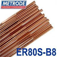 T9CRMO-32 Metrode 9CrMo 3.2mm Low Alloy Tig Wire, 5kg Pack, ER80S-B8