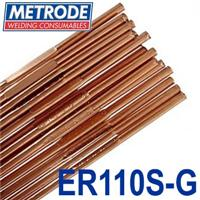 TER110SG-24 Metrode ER110S-G 2.4mm Low Alloy Tig Wire, 5kg Pack