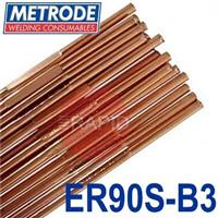 TER90SB3-X Metrode ER90S-B3 Low Alloy Tig Wire, 5kg Pack