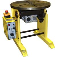 TT1000  Welding Positioner / Turntable 100 Kg Capacity. 0.5 to 15 rpm. 230v Input.