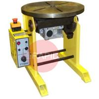TT1000P110 TT1000 Precision 345mm Welding Positioner / Turntable, 0.1 - 5rpm, 110v