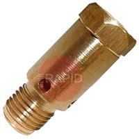 W006183 Kemppi Contact Tip Adaptor M8 Brass - New Style, PMT42W / MMT 42W