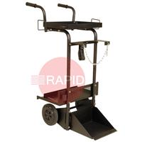 W0200002 Lincoln 2 Wheeled Trolley With Cylinder Carrier.