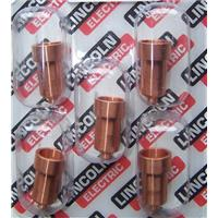 W03X0893-36A Lincoln Electric Torch Expendables - PC1030 Ext. Contact Tip/Nozzle 80A (Pack of 5)