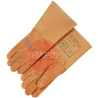 WEL10-1003L Weldas Softouch Top Grain Tig Glove Size 9 Large