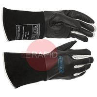 WEL10-1050L Weldas SOFTouch™ Black Tig Gloves Size 9 Large