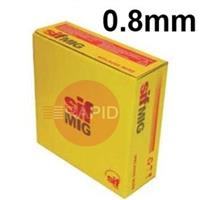 WG120815 Sifmig 120S-G Low Alloy Mig Wire 0.8mm Dia 15kg Spl, EN ISO 16834-A: G 89 4 M (Mn4Ni2CrMo), AWS A5.28 ER120S-G
