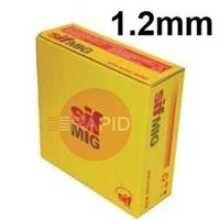 WG121215 Sifmig 120S-G Low Alloy Mig Wire 1.2mm Dia 15kg Spl, EN ISO 16834-A: G 89 4 M (Mn4Ni2CrMo), AWS A5.28 ER120S-G