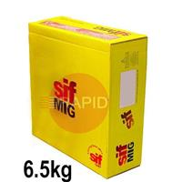 WO161065 SIFMIG 4047 Mig Wire, 1.0mm diameter, 6.5KG Spool, EN ISO 18273 S AI 4047A (AISi12), BS 2901 4047A (NG2)