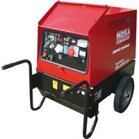 ZX35.37298CVE Mosa CT 230 YSX CC/CV Diesel Engine Driven 210A Welder - Site Package with Wheel Kit & Welding Cables