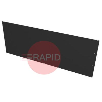 0000100866  Plymovent MDB-COVER/U Black Cover Plate 890 x 275mm